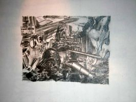 star wars collage drawing by RESAoner