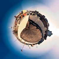 down town planet by Staticpictures