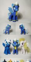 Echo Fleetfoot Wonderbolt Uniform G4 Custom Pony by Oak23