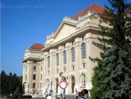 University of Debrecen by EvilBohnenkraut