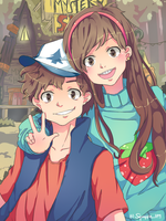 Mystery Twins by Squaffle