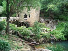 The Old Mill in Little Rock by tiffanylayne