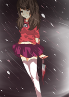 Living with guilt - yume nikki by Touhou12