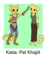 Katia: Pet Khajiit by KillerfishSG