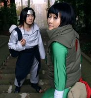 Neji and Lee 4 by MIUX-R