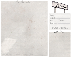 The-Rapids Blank Application by taylornaw