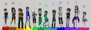 HS: Biggest fantroll lineup i've ever done otl by Ch4rm3d