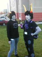 Anime Banzai 2012 Karkat and Gamzee by Fainting-Ostrich