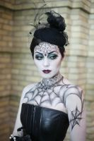 Gothic Beauty by maliciousmakeup