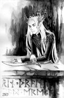 Elven grief II by Candra