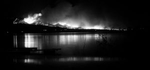 Fire across the lake 1 by TwistedLabel