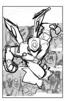 Tech Jacket TPB Vol: 2 Rough by E-Mann