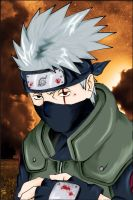"Kakashi- ""Colored"" by kayts99"