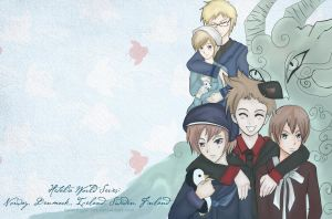 APH:Nordics or Scandanavian WP by moonlight-fox