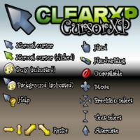 CLEAR XP CURSOR by juanelloo