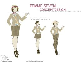 Femme Seven Design by Irridescent