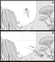 Mia and me storyboard 03 by Sarcix82