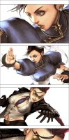 street fighter 4 by y-u-k-i-k-o