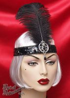 Nocturne Flapper Headdress by Valerian