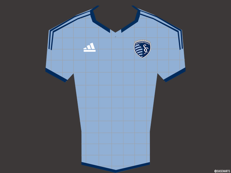 Sporting KC MLS Jersey by caseharts