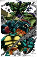 TMNT-WIP by Joe Mad by TheNass