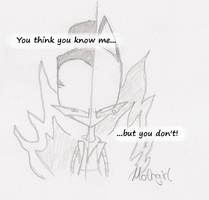 You Think You Know Me by AgentMothGirl
