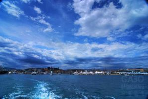 Cannes Panoramic by GabOrcinus