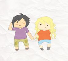 Cute Percabeth by JaydeeMe