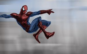 Quick Tablet Spidey by Bowsky