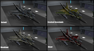 Cyber Falcon Camo schemes Pack 1 by Marksman104