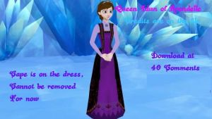 MMD frozen Queen Idun of Arendelle by King-Of-Snow