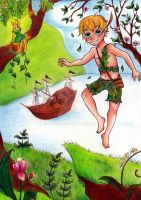 Peter Pan in Neverland by My-Anne
