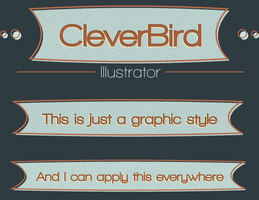 A CleverBird logo by Asmodeus01
