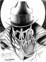Rorschach sketch by Hachiman1