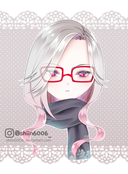 Red glasses by shiin6006