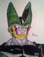 Perfect Cell with color! by delPuertoSisters