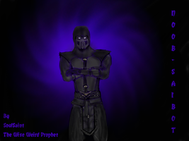 Noob-Saibot by TheWiseWeirdProphet