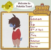 PKMN-CROSSING: Lennon by Fellduck