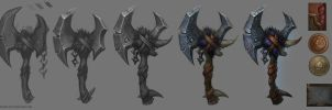 Weapon concept step by step by FirstKeeper