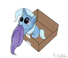 Trixie in a box by Fearingfootlong