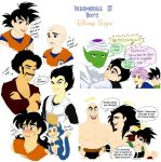 Dragonball Z Boys Disney-fied by meiharu