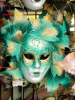 Green Leaf Mask by SAOstrich