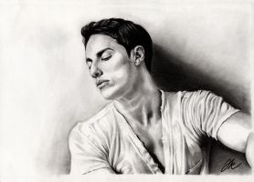 Michael Trevino by jeanetkristensen