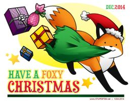 Merry Foxmas by SilentReaper