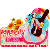 Melody, only for you. by sky--fall