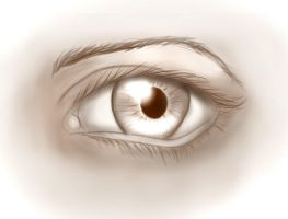 Eye sketch by ark4n