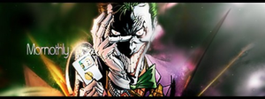 Joker sig by Mornothly