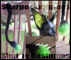 Toxic ear/tail set by Sharpe19