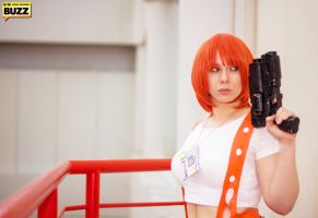 Leeloo - Fifth Element by Paper-Cube
