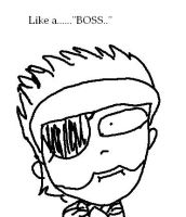 Big Boss Fun time by ZaneIsEpicZX